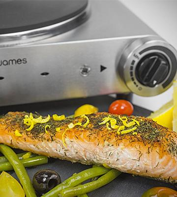 Review of Andrew James Double Hot Plate