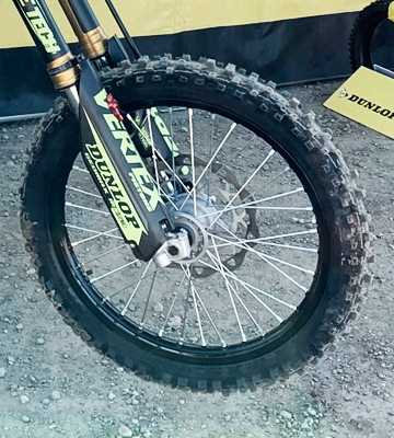 Review of Dunlop GEOMAX MX53 80 100-21 51M TT FRONT TYRE FOR MOTORBIKES