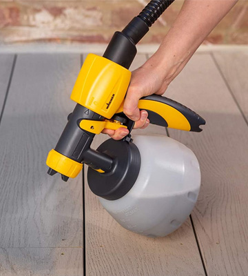 Review of Wagner 460 W 2369472 Fence & Decking Paint Sprayer