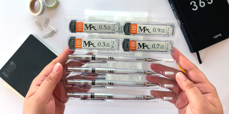 Review of MozArt Supplies 712038476381 Essential Mechanical Pencil Set