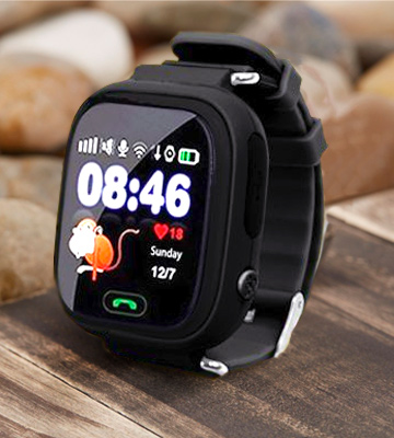 Review of 9Tong UKHJYQ90-black Kids GPS Smart Watch