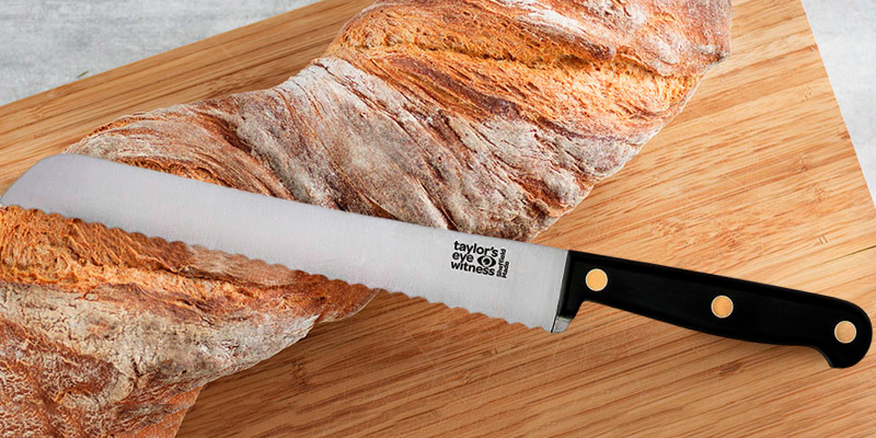 Review of Taylors Eye Witness Heritage Range Bread Knife