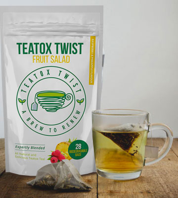 Review of Teatox Twist Fruit Salad Detox Tea