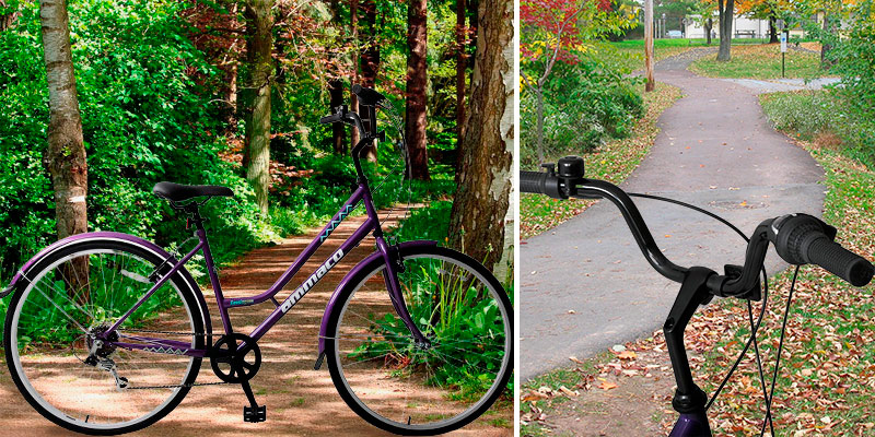 Review of AMMACO Kensington 700c Hybrid Trekking City Commuter Bike