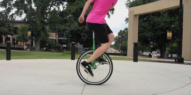 "Review of ReaseJoy 24"" Wheel Trainer Unicycle"
