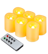 Kohree HP115-YPC-UK Flameless Candles Set With Timer