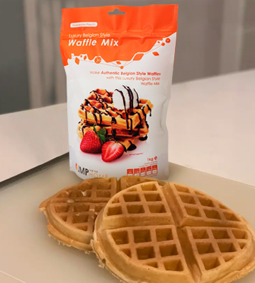 Review of JM Posner Simply Entertaining Luxury Belgian Style Waffle Mix