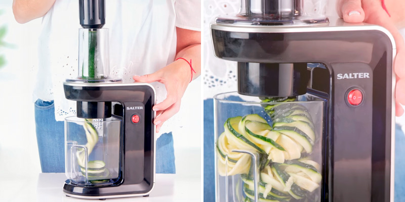 Review of Salter EK2326 3 in 1 Electric Spiralizer