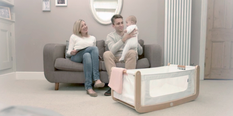 Review of The Little Green Sheep FN001S Bedside Crib and Mattress