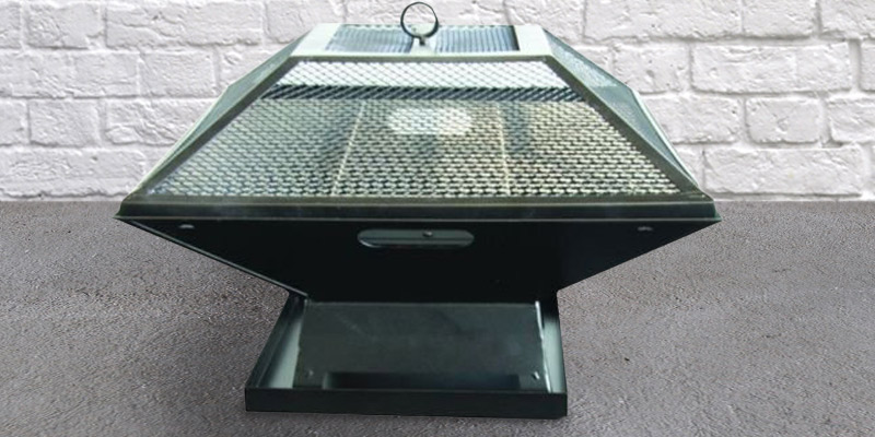 Review of Garden Mile® Square Metal BBQ/ Fire Pit