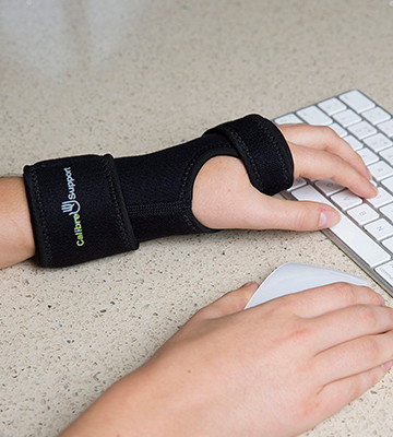 Review of Calibre Support Adjustable Wrist Support with Removable Splint