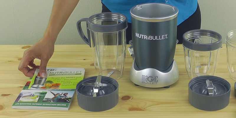 Detailed review of Nutribullet NBR-0801B Smoothie Maker Bullet blender