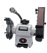 Draper 05096 Bench Grinder with Sanding Belt