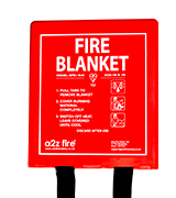 A2Z Fire Fire Blanket In Hard Case