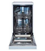 White Knight DW1045WA 10 Place Slimline Freestanding Dishwasher