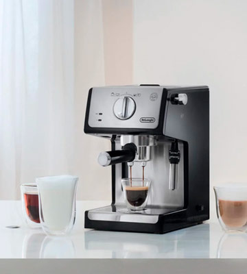Review of De'Longhi ECP35.31 Traditional Pump Espresso Machine with Adjustable milk frother