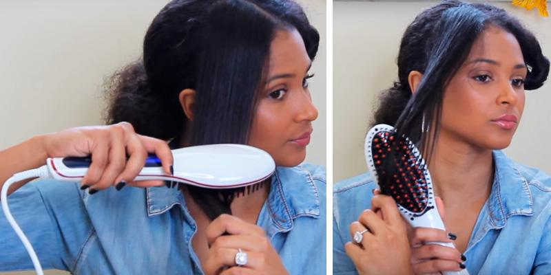 Review of Noza Tec Silky Straight Hair Brush