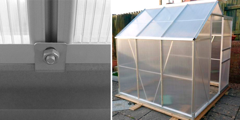 Review of Deuba 6x6 ft Greenhouse
