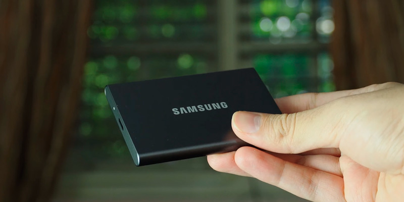 Samsung T7 External SSD (USB 3.2 Gen.2) in the use