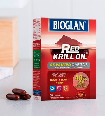 Review of Bioglan Red Krill Oil plus Omega 3 EPA and DHA