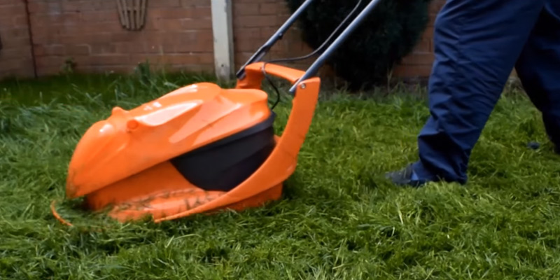 Review of Flymo HoverVac 280 Electric Hover Collect Lawnmower
