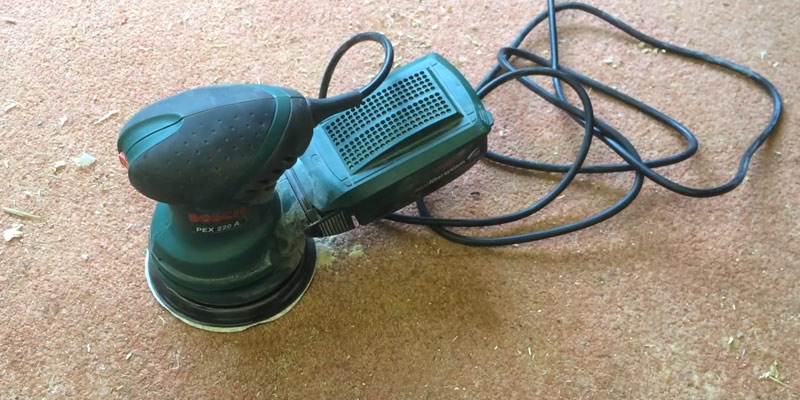 Review of Bosch PEX 220 Random Orbit Sander