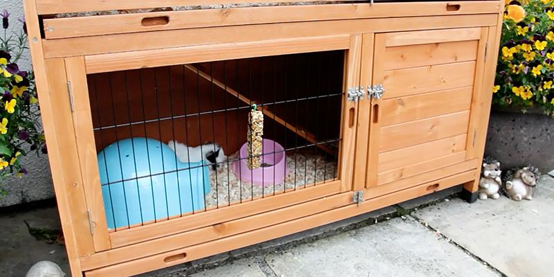 Review of FeelGoodUK Rabbit Hutch with Rain Cover
