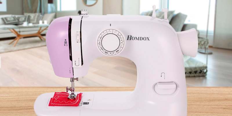 Review of Homdox SH-1803 Mini Sewing Machine