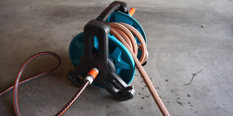 Review of Gardena Classic wall-fixed Hose Reel 50 Set Garden Hose