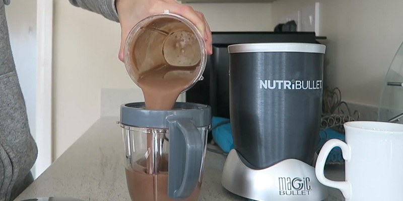 Nutribullet 600 Series Nutrient Extractor High Speed Blender in the use