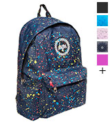 Hype Navy Primary Splat School Bag