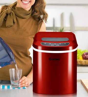 Review of Costway Portable Counter Top Electric Ice Machine