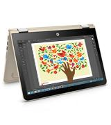 HP Pavilion Touch-Screen Convertible Laptop