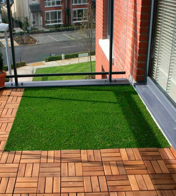 Review of Simpa Outdoor 22mm Pile Height Quality Non Fade Artificial Grass Pile Roll