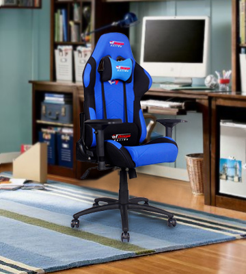 Review of GT Omega Racing Pro Office Chair Gaming Chair with Lumbar Support