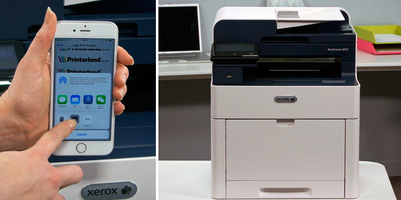 Review of Xerox WorkCentre (6515n) Colour Laser Printer