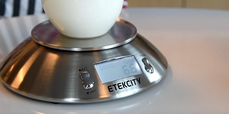 Detailed review of Etekcity Stainless Steel Kitchen and Food Scale