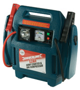 Silverline 234578 Silverstorm Jump Starter and Air Compressor