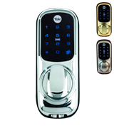 Yale YD-01-CON-NOMOD-CH Keyless Connected Ready Smart Door Lock