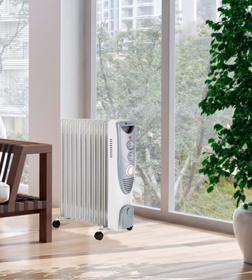 Review of PureMate Oil Filled Radiator Portable Electric Heater