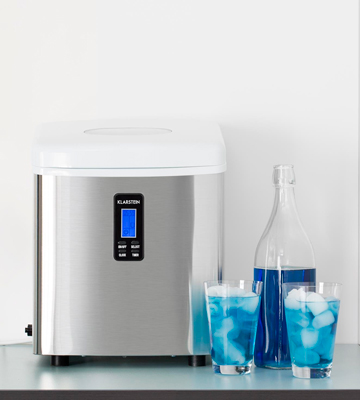 Review of Klarstein Mr. Silver Frost 3.3 Litre Tank Ice Maker