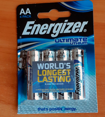 Review of Energizer (7638900262643) Ultimate Lithium AA Mignon L91 Batteries 3000 mAh Pack of 16