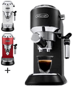 De'Longhi Dedica Style EC685BK Traditional Pump Espresso Machine