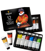 Castle Art Supplies Acrylic Paint Large Set