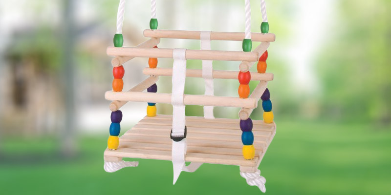 Review of Bigjigs Toys BJ771 Wooden Cradle Swing Seat