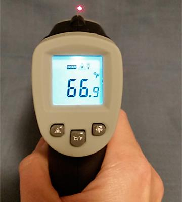 Review of MeasuPro IRT20 Infrared Thermometer with Laser Targeting