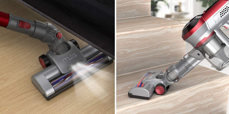 Muzili 3 in 1 Cordless Vacuum Cleaner in the use