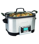 Crock-Pot CSC024 Multi-Cooker, 5.6L, Silver