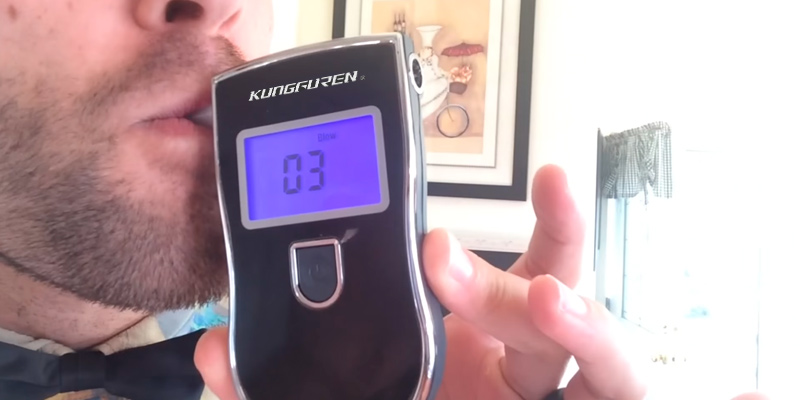 Review of kungfuren Breathalysers Professional Alcohol Breathalyzer Portable Breathalyser