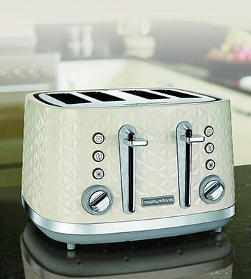 Review of Morphy Richards Vector 248132 4 Slice Toaster